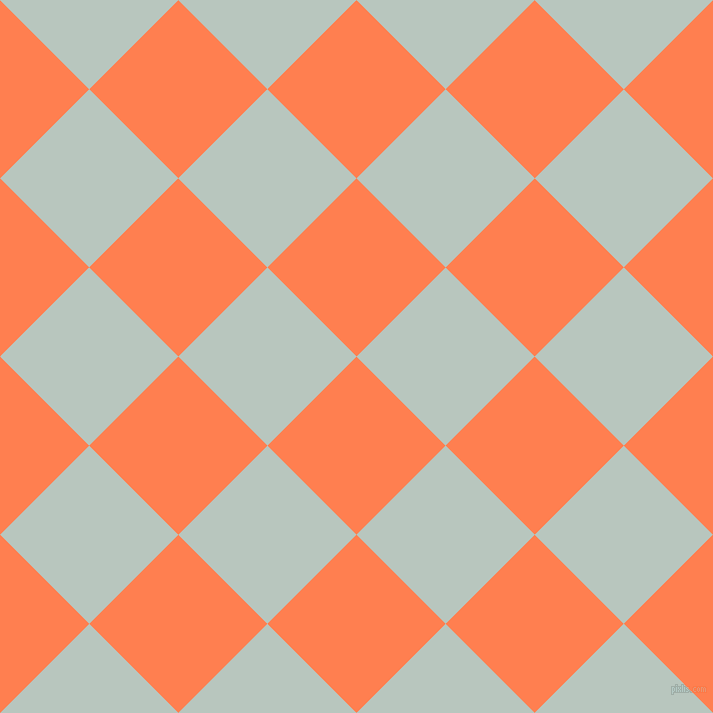 45/135 degree angle diagonal checkered chequered squares checker pattern checkers background, 126 pixel square size, , Coral and Nebula checkers chequered checkered squares seamless tileable