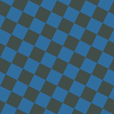 63/153 degree angle diagonal checkered chequered squares checker pattern checkers background, 52 pixel squares size, Corduroy and Lochmara checkers chequered checkered squares seamless tileable