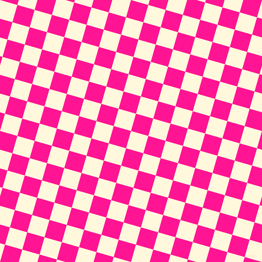74/164 degree angle diagonal checkered chequered squares checker pattern checkers background, 62 pixel squares size, , Corn Silk and Deep Pink checkers chequered checkered squares seamless tileable