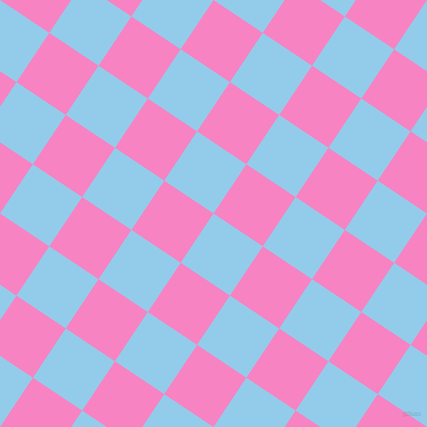 56/146 degree angle diagonal checkered chequered squares checker pattern checkers background, 118 pixel squares size, , Cornflower and Tea Rose checkers chequered checkered squares seamless tileable
