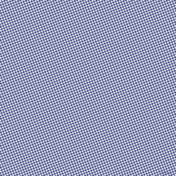 66/156 degree angle diagonal checkered chequered squares checker pattern checkers background, 6 pixel squares size, , Cosmic Latte and Dark Slate Blue checkers chequered checkered squares seamless tileable