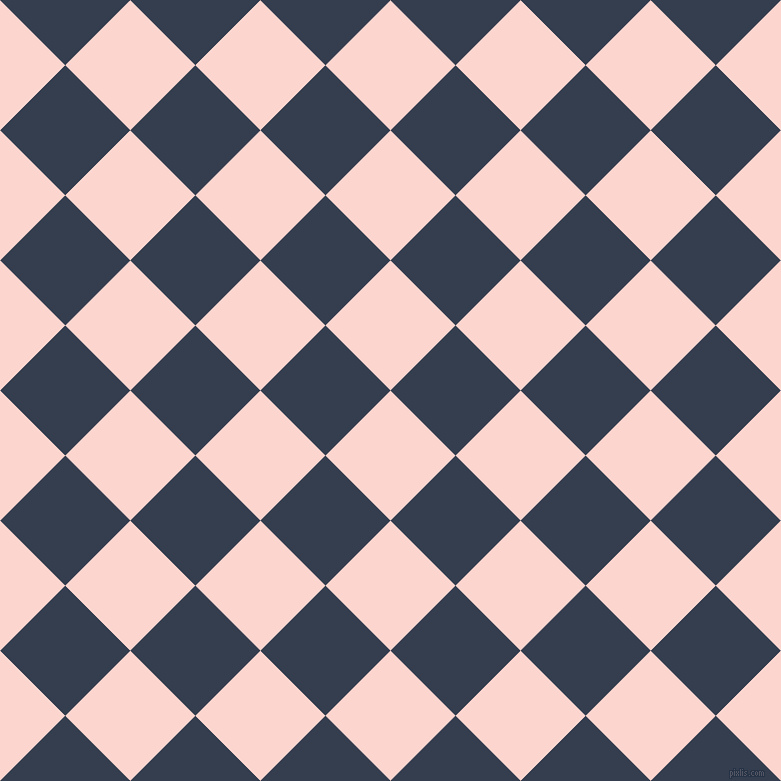 45/135 degree angle diagonal checkered chequered squares checker pattern checkers background, 92 pixel squares size, , Cosmos and Cloud Burst checkers chequered checkered squares seamless tileable