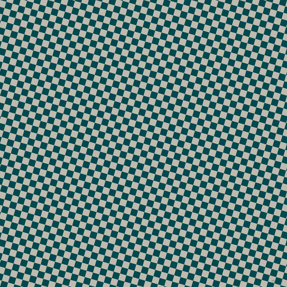 74/164 degree angle diagonal checkered chequered squares checker pattern checkers background, 22 pixel squares size, , Cotton Seed and Sherpa Blue checkers chequered checkered squares seamless tileable