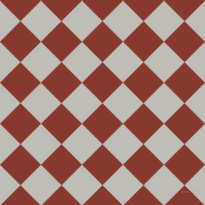 45/135 degree angle diagonal checkered chequered squares checker pattern checkers background, 57 pixel square size, , Crab Apple and Silver Sand checkers chequered checkered squares seamless tileable