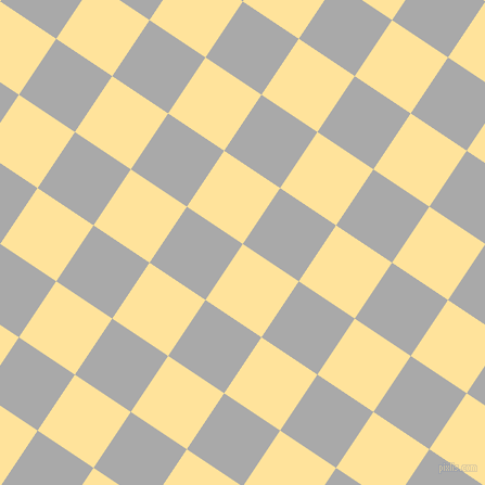 56/146 degree angle diagonal checkered chequered squares checker pattern checkers background, 62 pixel square size, , Cream Brulee and Dark Gray checkers chequered checkered squares seamless tileable