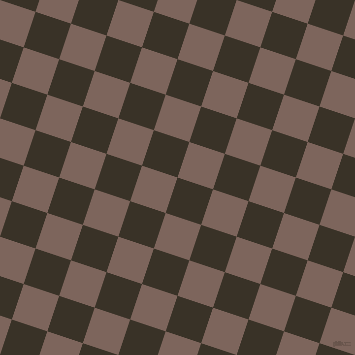 72/162 degree angle diagonal checkered chequered squares checker pattern checkers background, 76 pixel square size, , Creole and Russett checkers chequered checkered squares seamless tileable