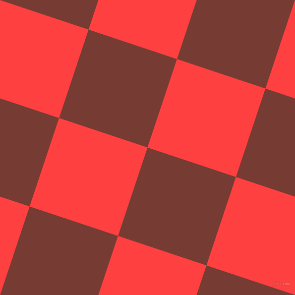 72/162 degree angle diagonal checkered chequered squares checker pattern checkers background, 188 pixel squares size, , Crown Of Thorns and Coral Red checkers chequered checkered squares seamless tileable