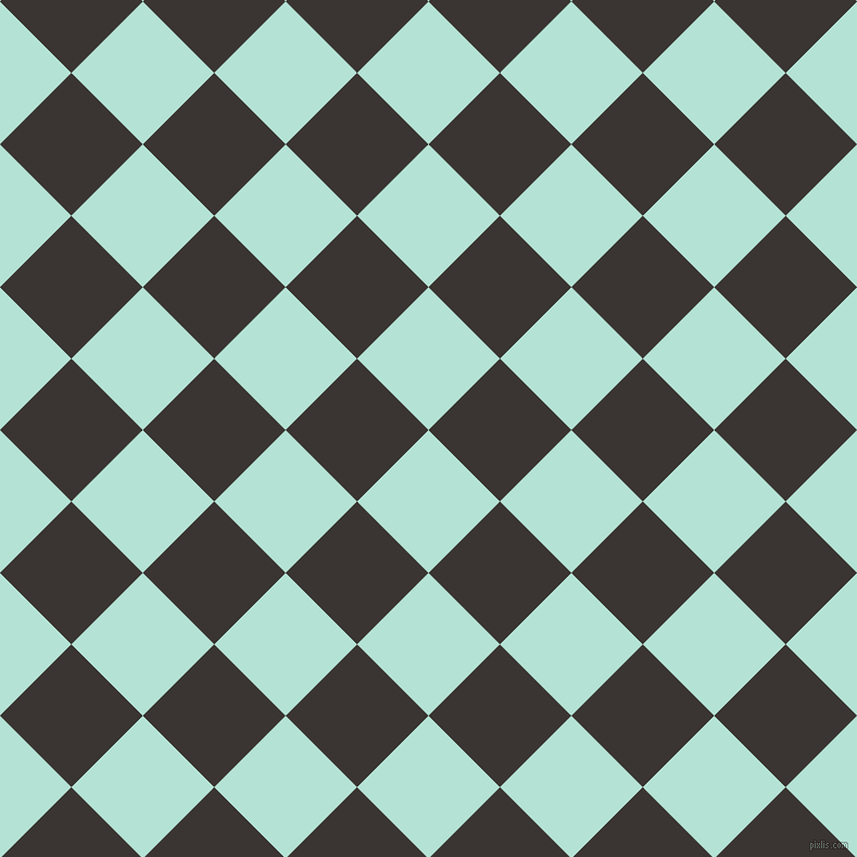 Cruise And Kilamanjaro Checkers Chequered Checkered Squares Seamless Inspiration Checker Pattern