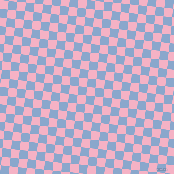 84/174 degree angle diagonal checkered chequered squares checker pattern checkers background, 28 pixel square size, , Cupid and Polo Blue checkers chequered checkered squares seamless tileable
