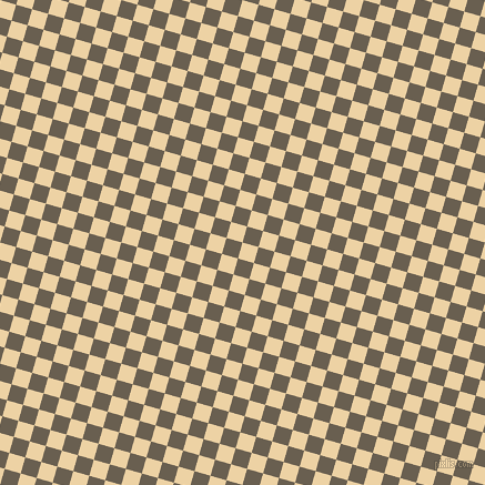 74/164 degree angle diagonal checkered chequered squares checker pattern checkers background, 15 pixel squares size, , Dairy Cream and Makara checkers chequered checkered squares seamless tileable
