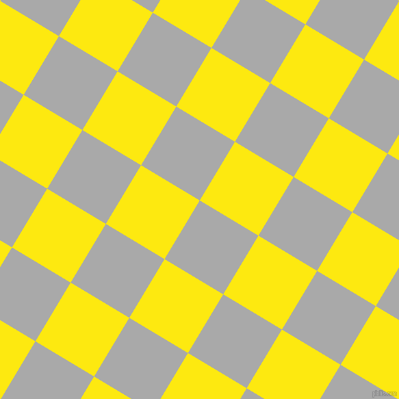 59/149 degree angle diagonal checkered chequered squares checker pattern checkers background, 100 pixel squares size, , Dark Gray and Lemon checkers chequered checkered squares seamless tileable
