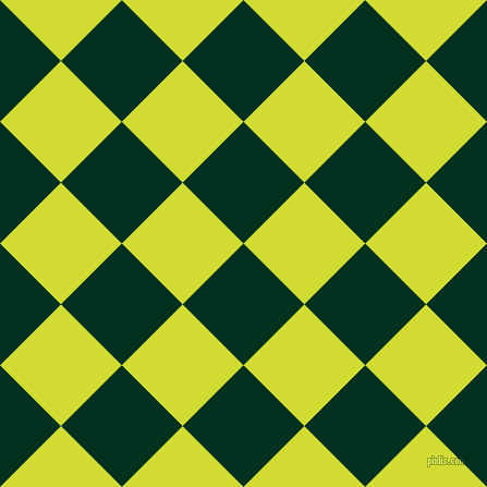 45/135 degree angle diagonal checkered chequered squares checker pattern checkers background, 79 pixel squares size, , Dark Green and Bitter Lemon checkers chequered checkered squares seamless tileable