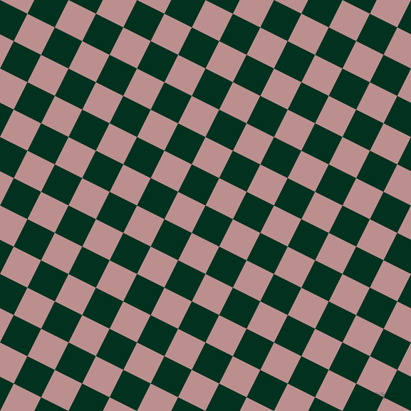 63/153 degree angle diagonal checkered chequered squares checker pattern checkers background, 43 pixel squares size, , Dark Green and Rosy Brown checkers chequered checkered squares seamless tileable