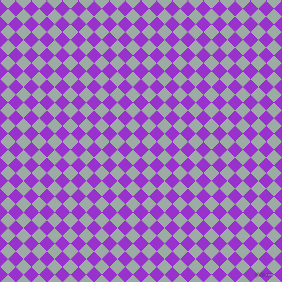 45/135 degree angle diagonal checkered chequered squares checker pattern checkers background, 22 pixel squares size, , Dark Orchid and Tower Grey checkers chequered checkered squares seamless tileable