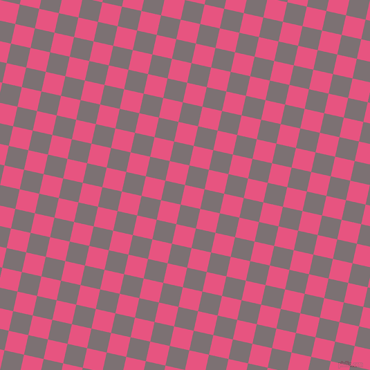77/167 degree angle diagonal checkered chequered squares checker pattern checkers background, 29 pixel squares size, , Dark Pink and Empress checkers chequered checkered squares seamless tileable