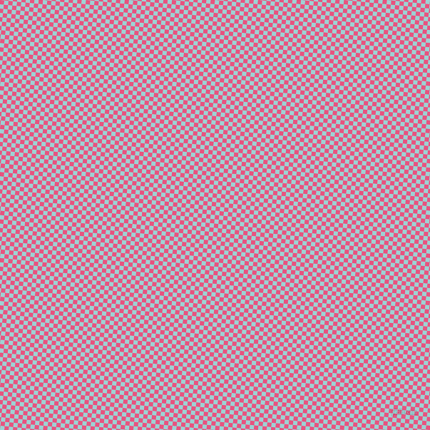 84/174 degree angle diagonal checkered chequered squares checker pattern checkers background, 6 pixel squares size, Dark Pink and Morning Glory checkers chequered checkered squares seamless tileable