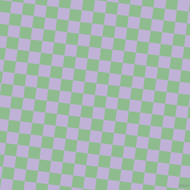 83/173 degree angle diagonal checkered chequered squares checker pattern checkers background, 40 pixel square size, , Dark Sea Green and Moon Raker checkers chequered checkered squares seamless tileable