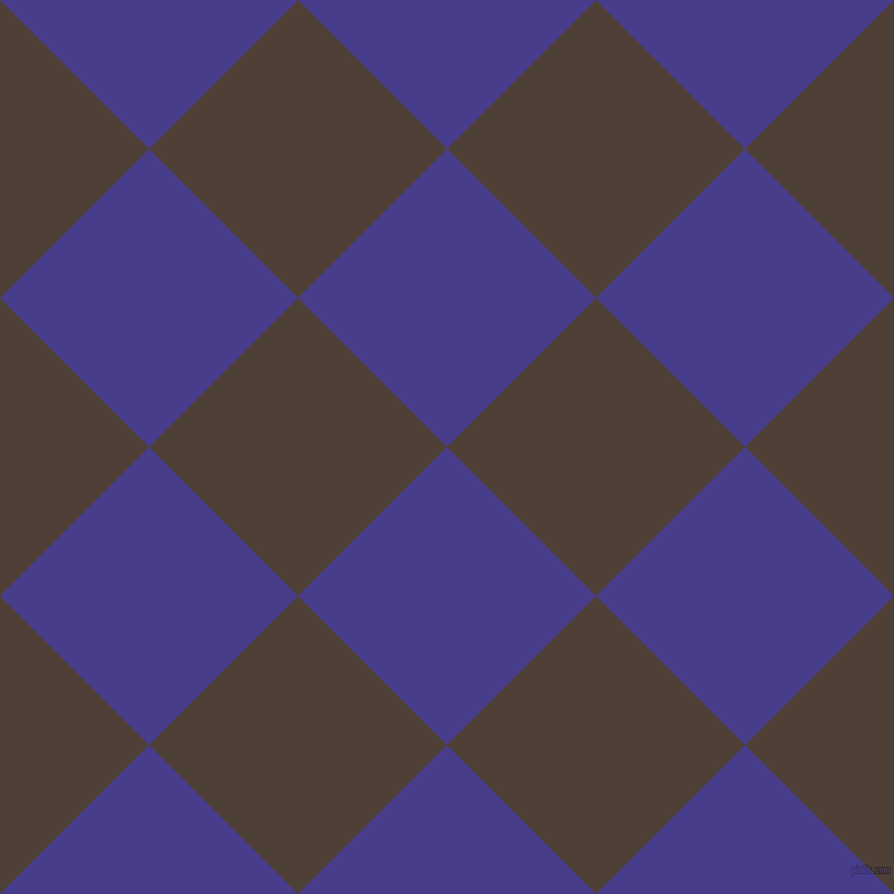 45/135 degree angle diagonal checkered chequered squares checker pattern checkers background, 193 pixel squares size, , Dark Slate Blue and Paco checkers chequered checkered squares seamless tileable
