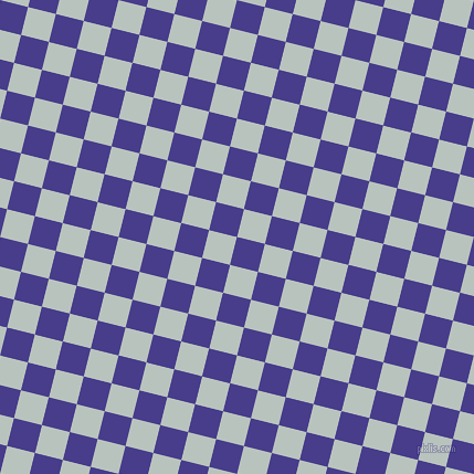 76/166 degree angle diagonal checkered chequered squares checker pattern checkers background, 26 pixel squares size, , Dark Slate Blue and Tiara checkers chequered checkered squares seamless tileable