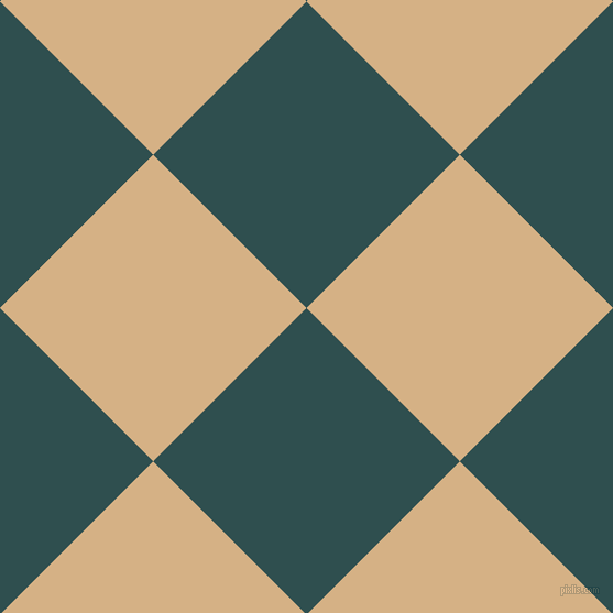 45/135 degree angle diagonal checkered chequered squares checker pattern checkers background, 197 pixel square size, , Dark Slate Grey and Calico checkers chequered checkered squares seamless tileable
