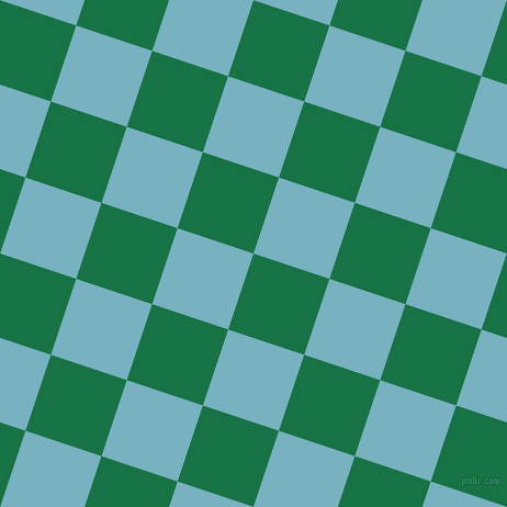 72/162 degree angle diagonal checkered chequered squares checker pattern checkers background, 73 pixel squares size, , Dark Spring Green and Glacier checkers chequered checkered squares seamless tileable