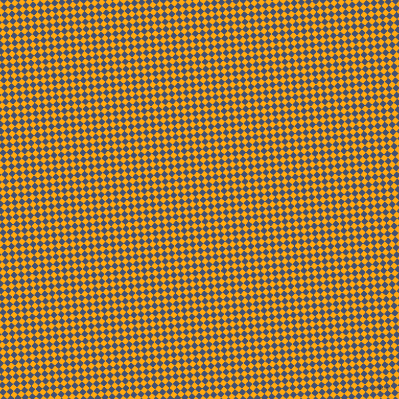 50/140 degree angle diagonal checkered chequered squares checker pattern checkers background, 10 pixel squares size, , Dark Tangerine and Astronaut checkers chequered checkered squares seamless tileable