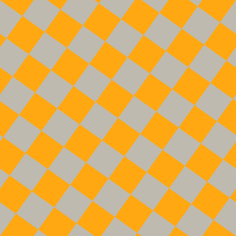 54/144 degree angle diagonal checkered chequered squares checker pattern checkers background, 96 pixel squares size, , Dark Tangerine and Cotton Seed checkers chequered checkered squares seamless tileable