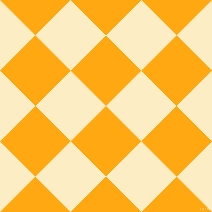 45/135 degree angle diagonal checkered chequered squares checker pattern checkers background, 163 pixel squares size, , Dark Tangerine and Oasis checkers chequered checkered squares seamless tileable