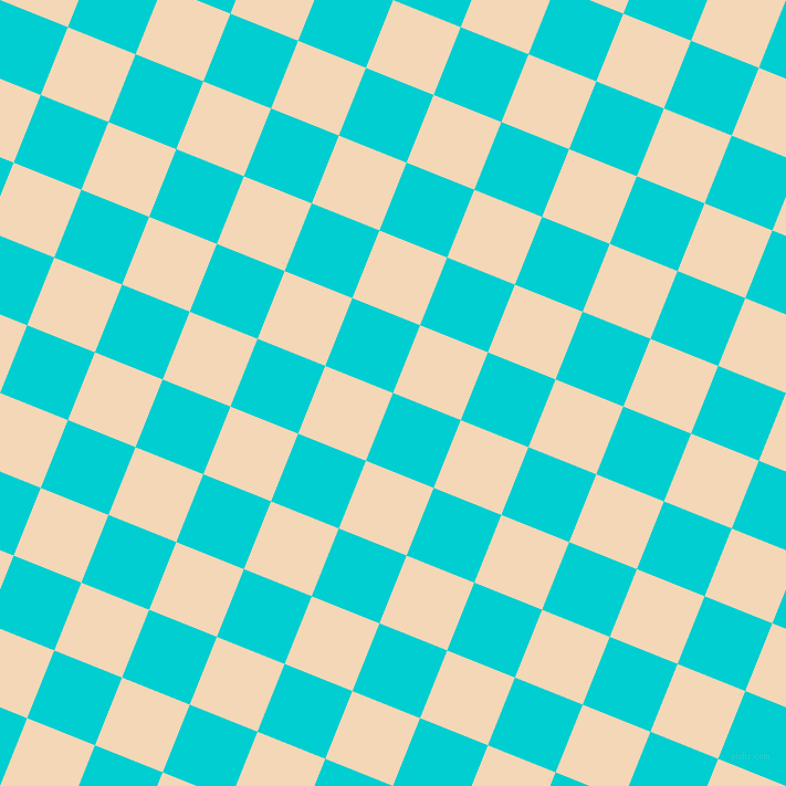 68/158 degree angle diagonal checkered chequered squares checker pattern checkers background, 66 pixel square size, , Dark Turquoise and Pink Lady checkers chequered checkered squares seamless tileable