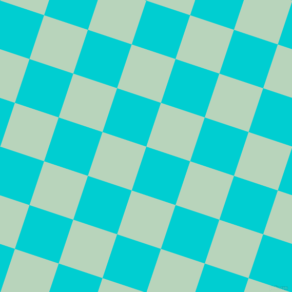 72/162 degree angle diagonal checkered chequered squares checker pattern checkers background, 90 pixel squares size, , Dark Turquoise and Surf checkers chequered checkered squares seamless tileable