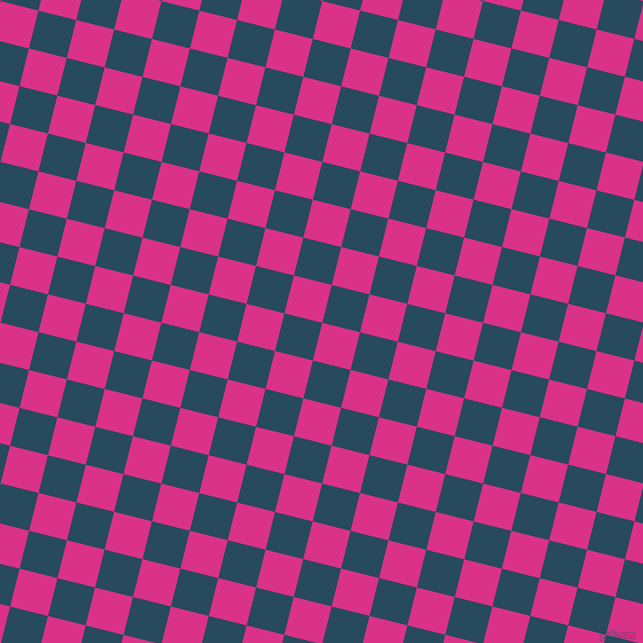 76/166 degree angle diagonal checkered chequered squares checker pattern checkers background, 39 pixel squares size, , Deep Cerise and Arapawa checkers chequered checkered squares seamless tileable