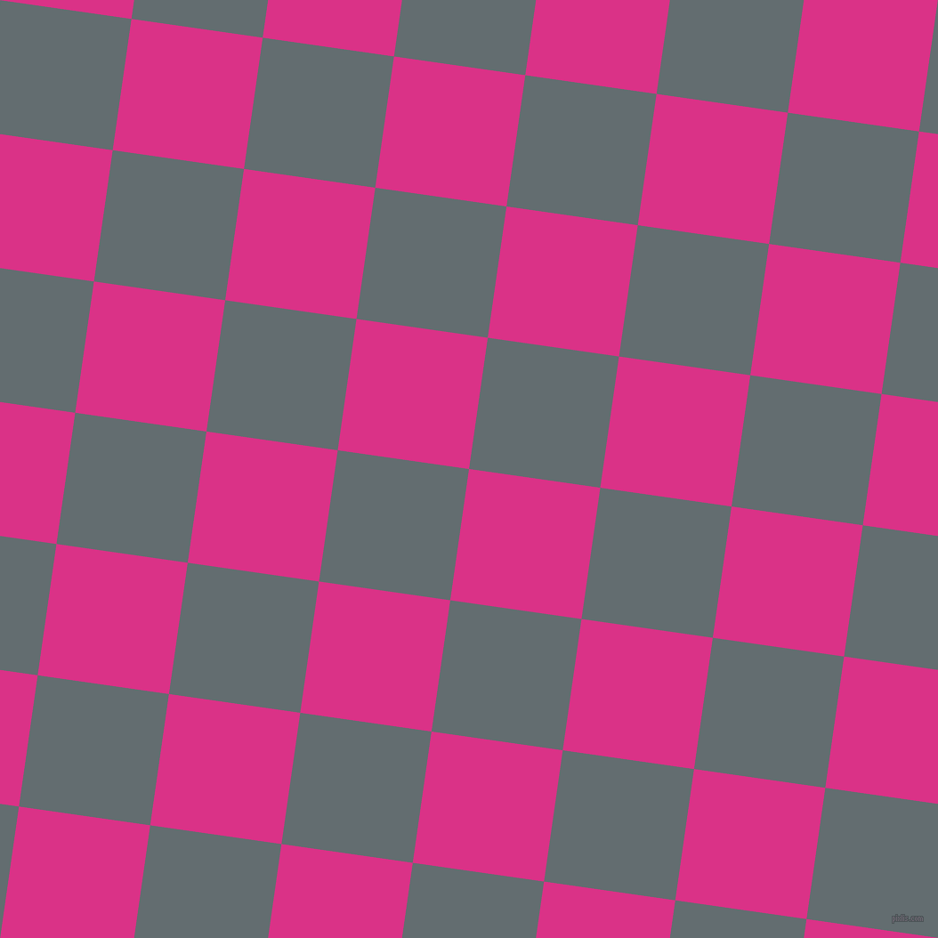 82/172 degree angle diagonal checkered chequered squares checker pattern checkers background, 149 pixel square size, , Deep Cerise and Pale Sky checkers chequered checkered squares seamless tileable