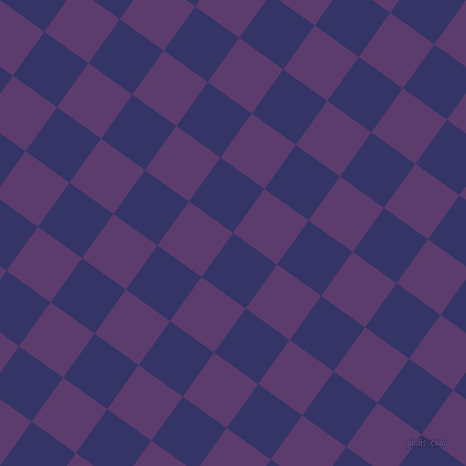 54/144 degree angle diagonal checkered chequered squares checker pattern checkers background, 49 pixel square size, , Deep Koamaru and Honey Flower checkers chequered checkered squares seamless tileable