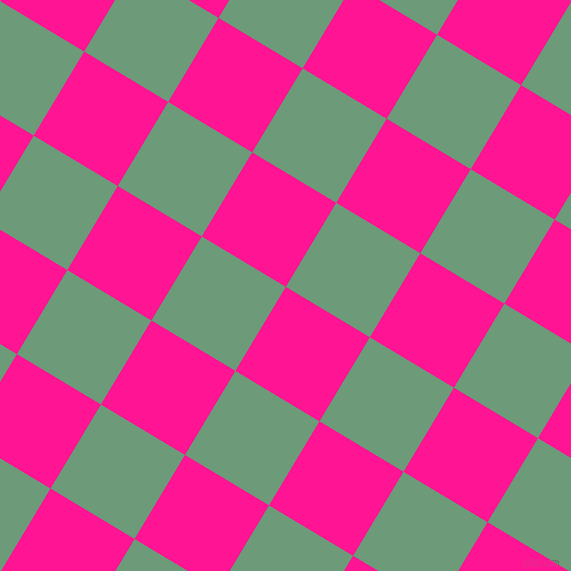 59/149 degree angle diagonal checkered chequered squares checker pattern checkers background, 98 pixel square size, , Deep Pink and Oxley checkers chequered checkered squares seamless tileable