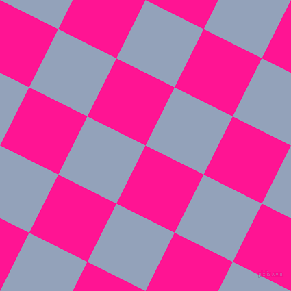 63/153 degree angle diagonal checkered chequered squares checker pattern checkers background, 95 pixel squares size, , Deep Pink and Rock Blue checkers chequered checkered squares seamless tileable