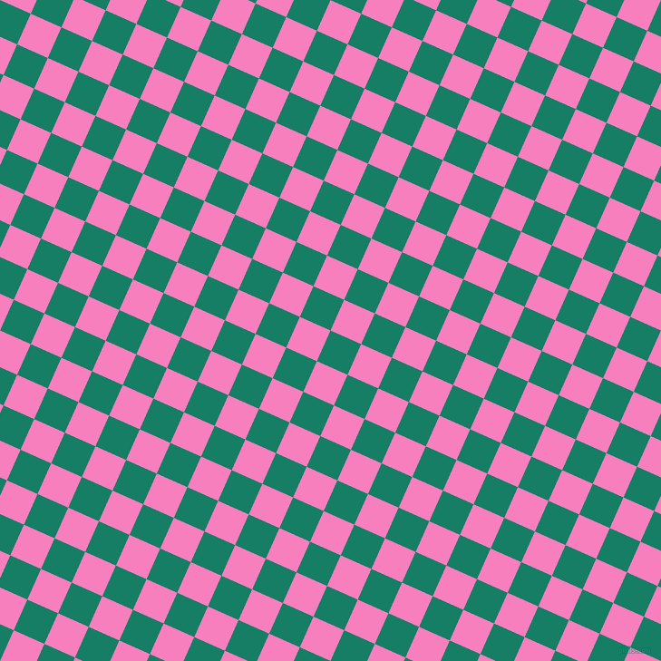 66/156 degree angle diagonal checkered chequered squares checker pattern checkers background, 37 pixel squares size, , Deep Sea and Persian Pink checkers chequered checkered squares seamless tileable