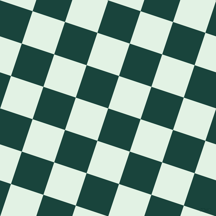 72/162 degree angle diagonal checkered chequered squares checker pattern checkers background, 111 pixel square size, , Deep Teal and Frosted Mint checkers chequered checkered squares seamless tileable