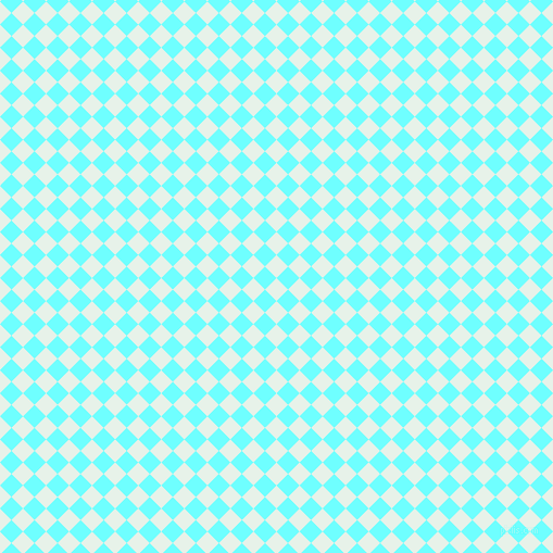 45/135 degree angle diagonal checkered chequered squares checker pattern checkers background, 15 pixel square size, , Dew and Baby Blue checkers chequered checkered squares seamless tileable