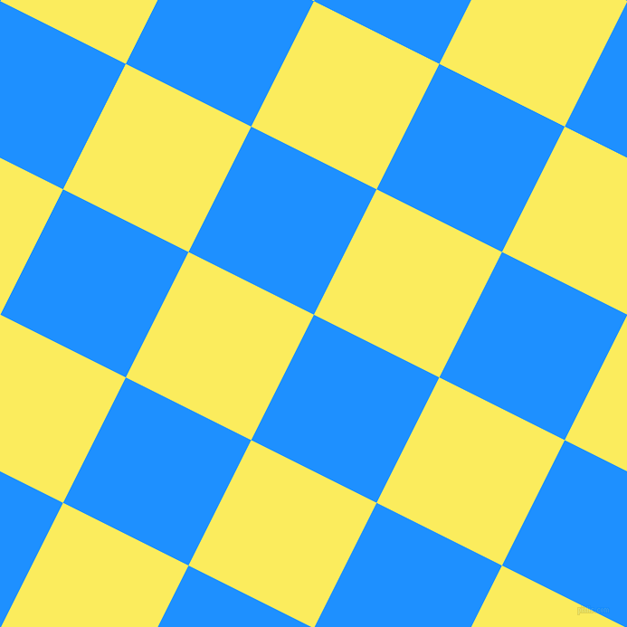 63/153 degree angle diagonal checkered chequered squares checker pattern checkers background, 155 pixel square size, , Dodger Blue and Corn checkers chequered checkered squares seamless tileable
