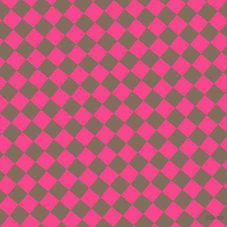 50/140 degree angle diagonal checkered chequered squares checker pattern checkers background, 29 pixel squares size, , Donkey Brown and Violet Red checkers chequered checkered squares seamless tileable