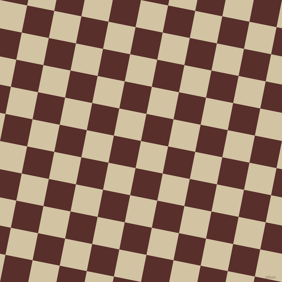 79/169 degree angle diagonal checkered chequered squares checker pattern checkers background, 94 pixel square size, , Double Spanish White and Moccaccino checkers chequered checkered squares seamless tileable