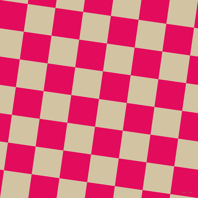 82/172 degree angle diagonal checkered chequered squares checker pattern checkers background, 98 pixel square size, , Double Spanish White and Razzmatazz checkers chequered checkered squares seamless tileable