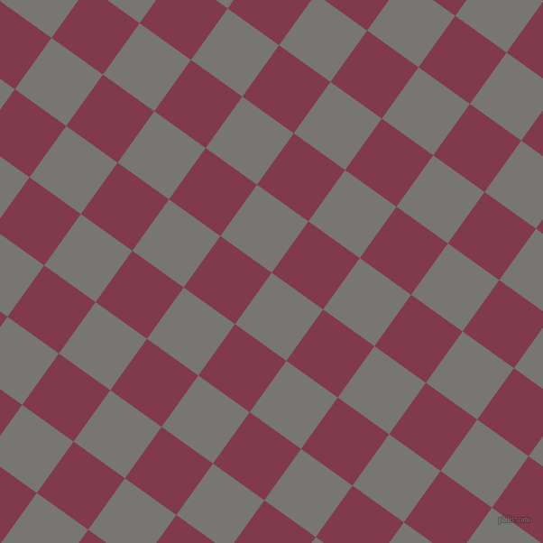 54/144 degree angle diagonal checkered chequered squares checker pattern checkers background, 70 pixel squares size, , Dove Grey and Camelot checkers chequered checkered squares seamless tileable