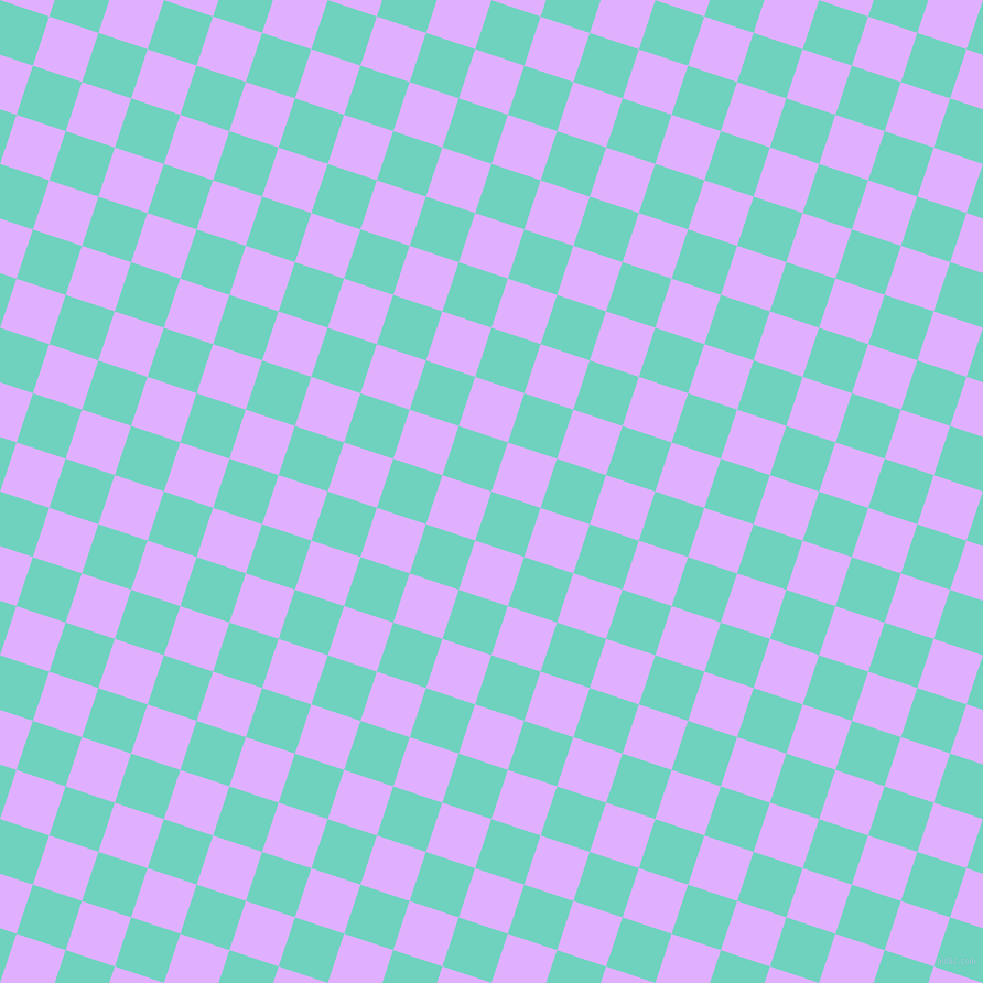 72/162 degree angle diagonal checkered chequered squares checker pattern checkers background, 47 pixel squares size, , Downy and Mauve checkers chequered checkered squares seamless tileable