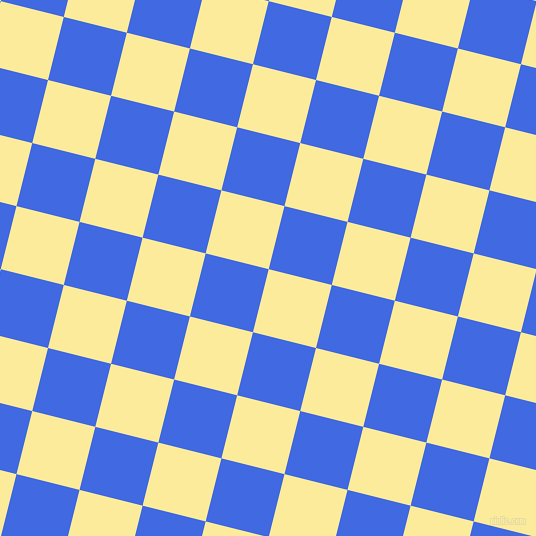 76/166 degree angle diagonal checkered chequered squares checker pattern checkers background, 65 pixel squares size, , Drover and Royal Blue checkers chequered checkered squares seamless tileable