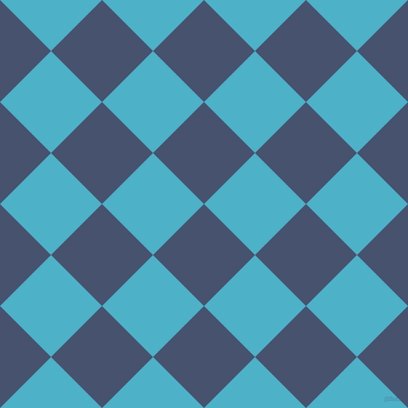 45/135 degree angle diagonal checkered chequered squares checker pattern checkers background, 143 pixel square size, , East Bay and Viking checkers chequered checkered squares seamless tileable