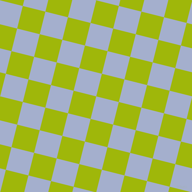 76/166 degree angle diagonal checkered chequered squares checker pattern checkers background, 78 pixel square size, , Echo Blue and Citrus checkers chequered checkered squares seamless tileable