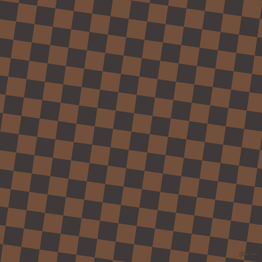 82/172 degree angle diagonal checkered chequered squares checker pattern checkers background, 37 pixel square size, , Eclipse and Old Copper checkers chequered checkered squares seamless tileable