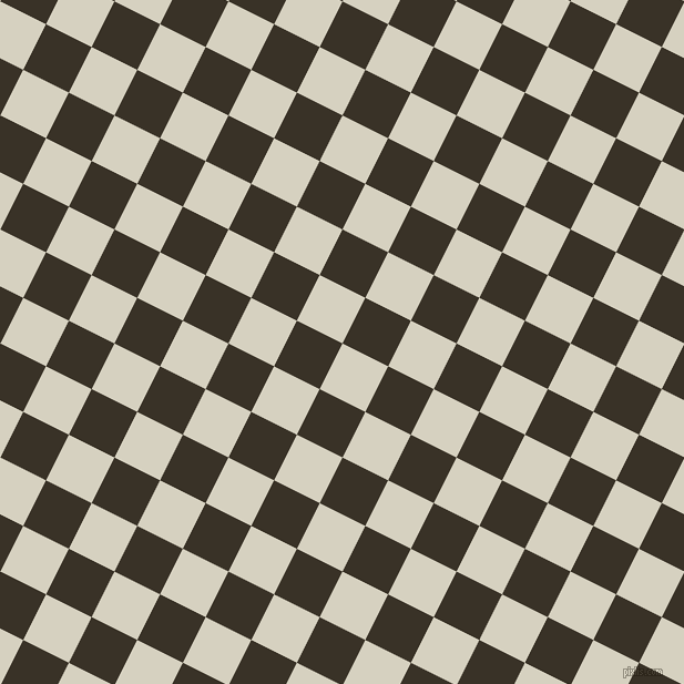 63/153 degree angle diagonal checkered chequered squares checker pattern checkers background, 46 pixel square size, , Ecru White and Creole checkers chequered checkered squares seamless tileable