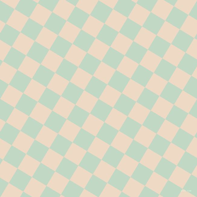 59/149 degree angle diagonal checkered chequered squares checker pattern checkers background, 56 pixel square size, , Edgewater and Almond checkers chequered checkered squares seamless tileable